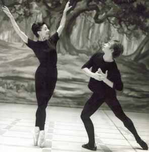 Rudolf Nureyev dancing La Sylphide in 1963 with Margot Fonteyn