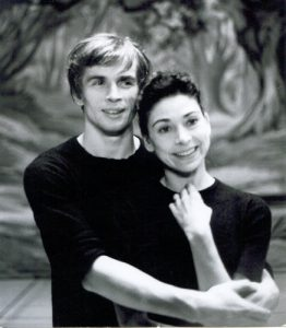 Rudolf Nureyev dancing La Sylphide in 1963 with Margot Fonteyn