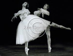 Rudolf Noureev dansant Les Sylphides - 1962 - avec Yvette Chauviré