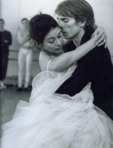 Rudolf Noureev et Margot Fonteyn dans Marguerite et Armand - 1963 - répétition
