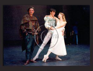 Rudolf Noureev avec Nicolas Le Riche et Claude de Vulpian - 1991