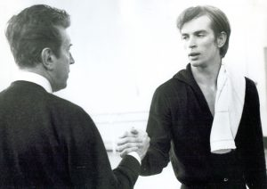 Rudolf Noureev et Frederick Ashton - 1961